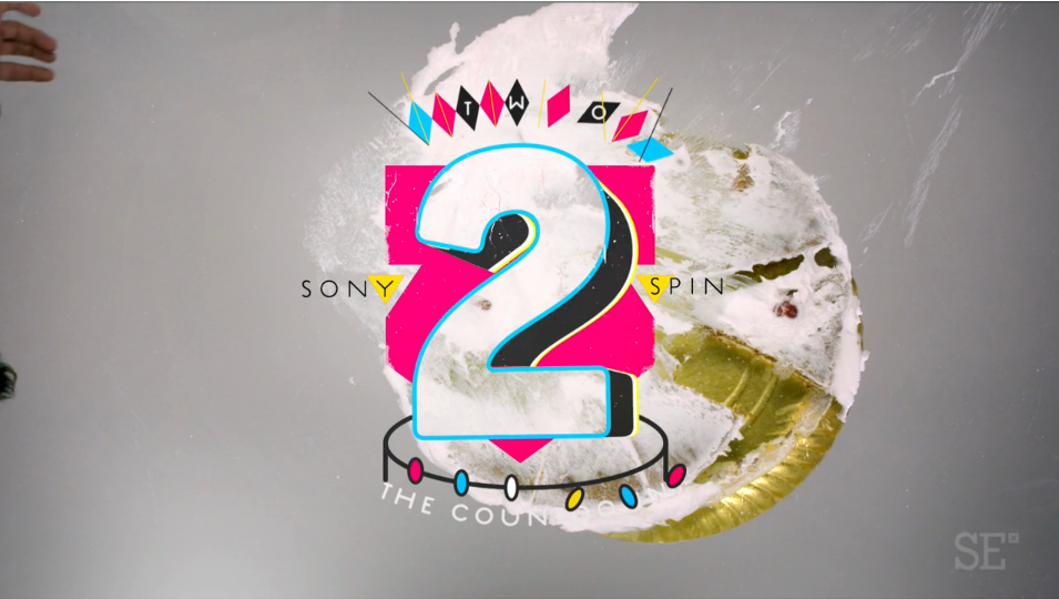 Sony Spin Countdown