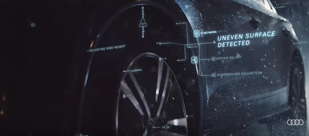 The new Audi TV advert: React