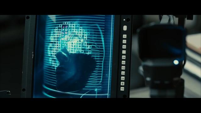 Blade Runner 2049 UI Screen graphics
