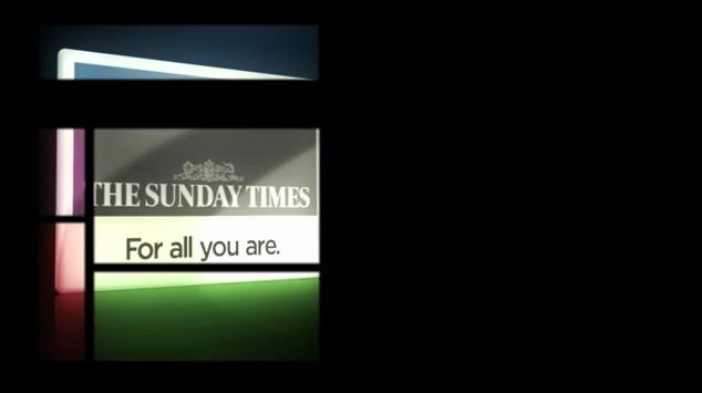 Sunday Times TV adverts