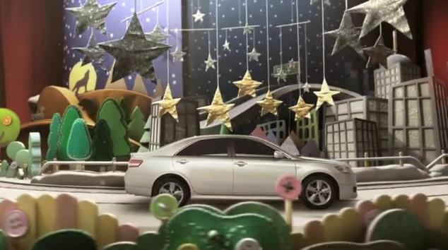 Toyota: Diorama