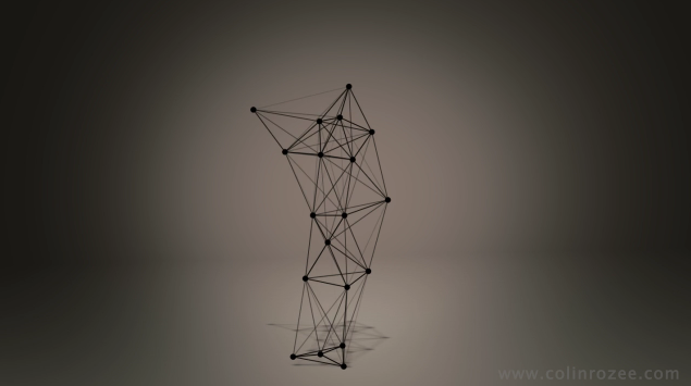 Dancing wireframe
