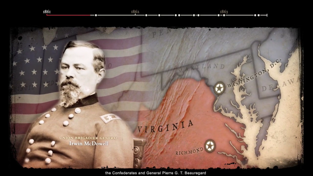 American Civil War map sequences