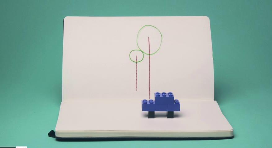 Moleskin: Lego Pitch