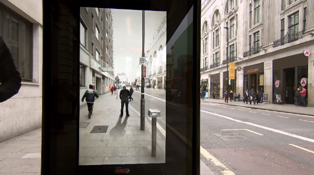 Augmented reality – Bus Shelter