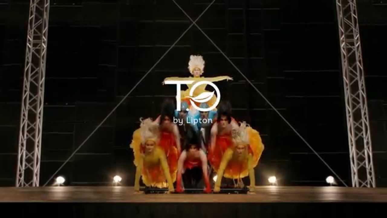 Liptons Tea from Cirque du Soleil
