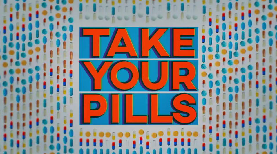 Netflixs Take Your Pills Title Sequence 2018