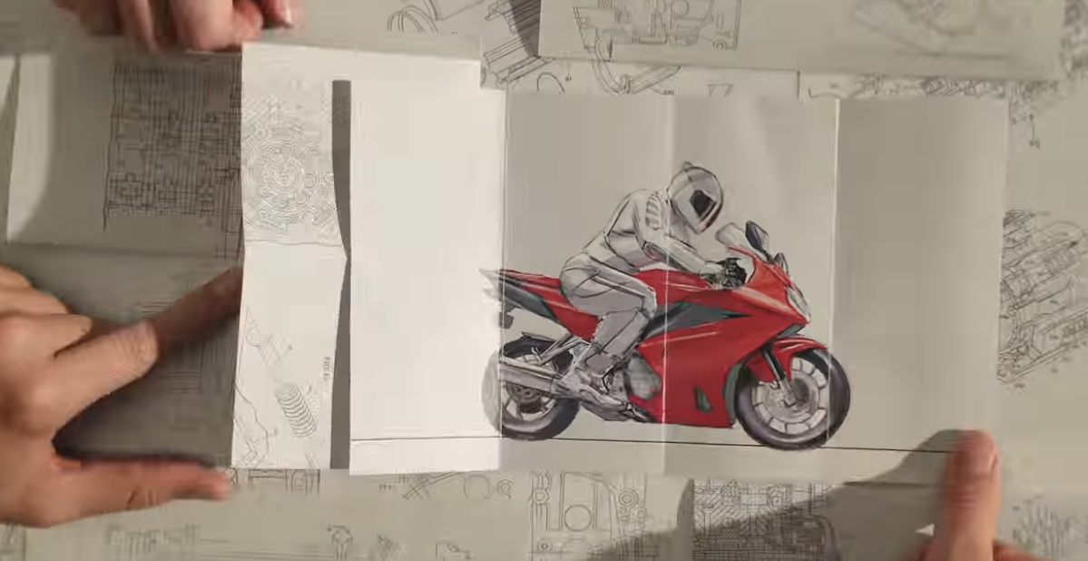 "Honda ""Paper"""