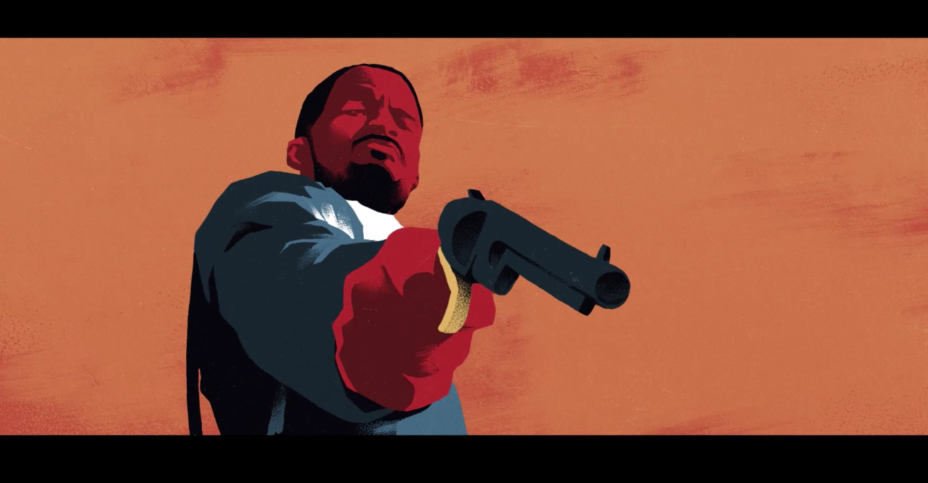 Django Unchained Paramount Channel Promo Animation